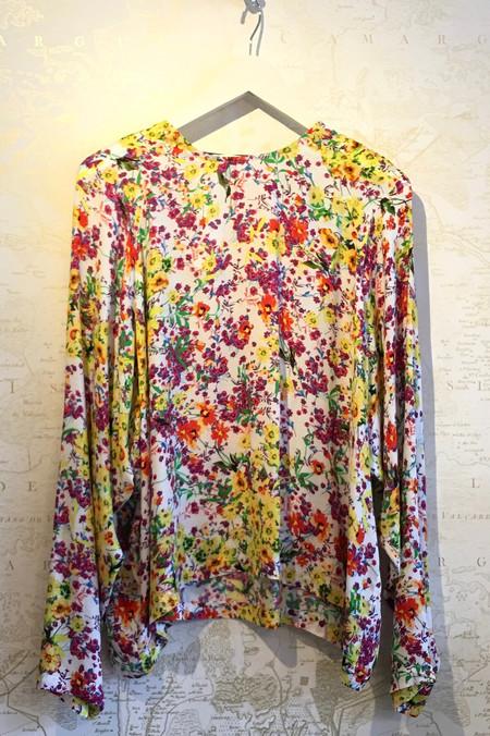 Roseanna Floral Print Long Sleeve Top
