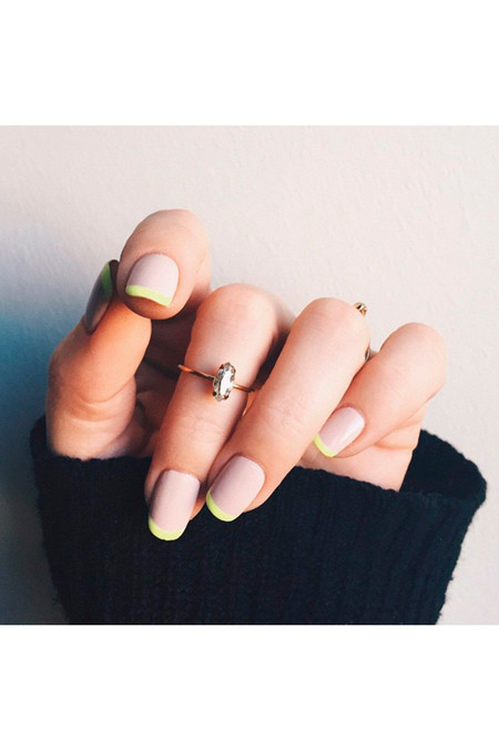 Bing Bang NYC Tiny Marquis Ring Clear Swarovski