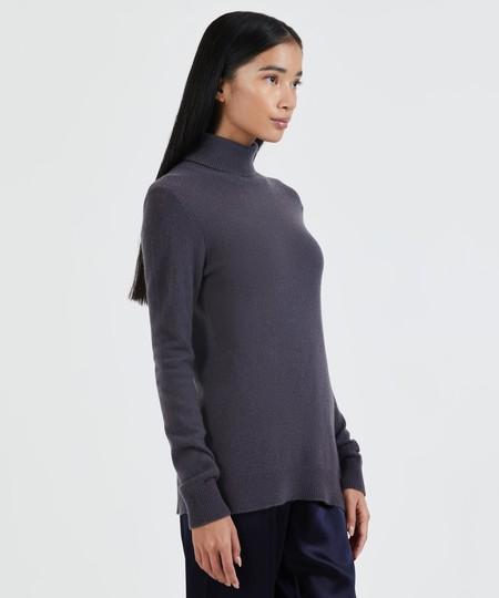 ATM Cashmere Turtleneck Sweater - Dusk