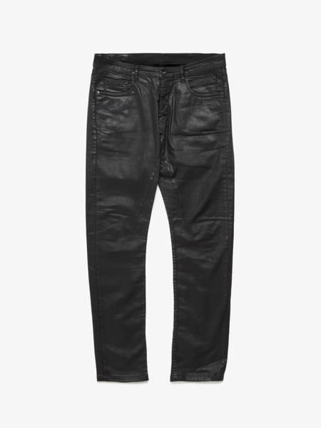 PRE-LOVED Rick Owens Drkshdw Male Waxed Cotton Jeans - Black