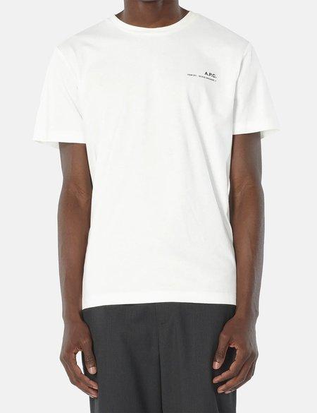 A.P.C. Item T-Shirt - White