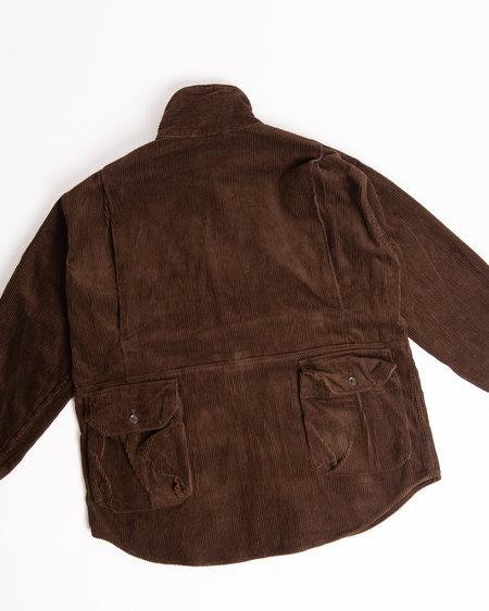 Engineered Garments Explorer Shirt - 8W Brown Corduroy