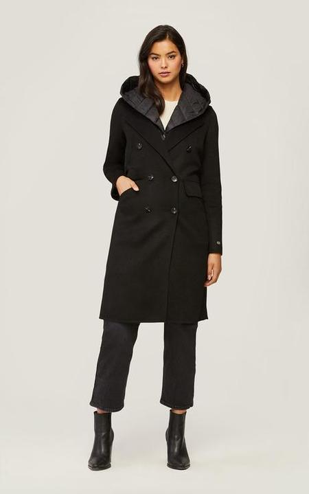 Soia & Kyo Viola Wool Coat - Black