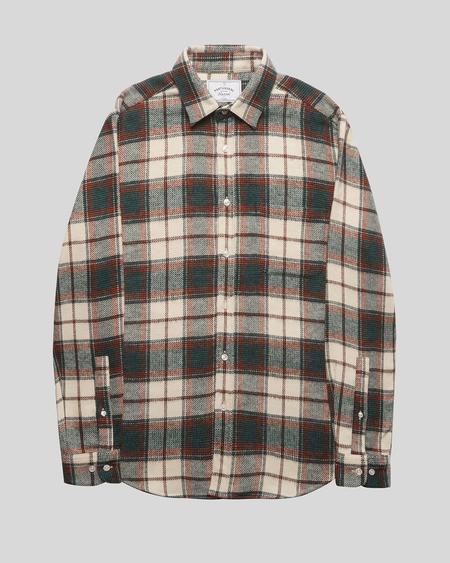 Portuguese Flannel Saint Patrick Check Flannel Shirt