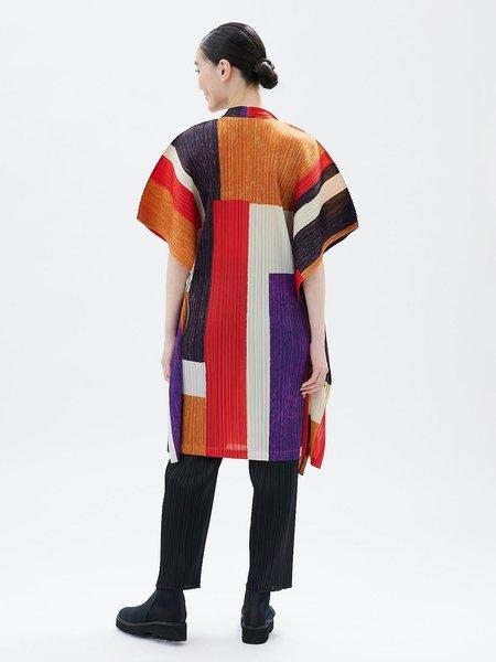 Pleats Please by Issey Miyake Field Dress - Orange