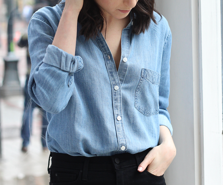 RAILS | INGRID BUTTON DOWN IN INDIGO
