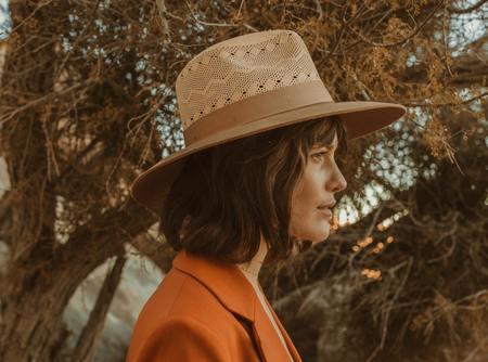 Freya Cedar Hat