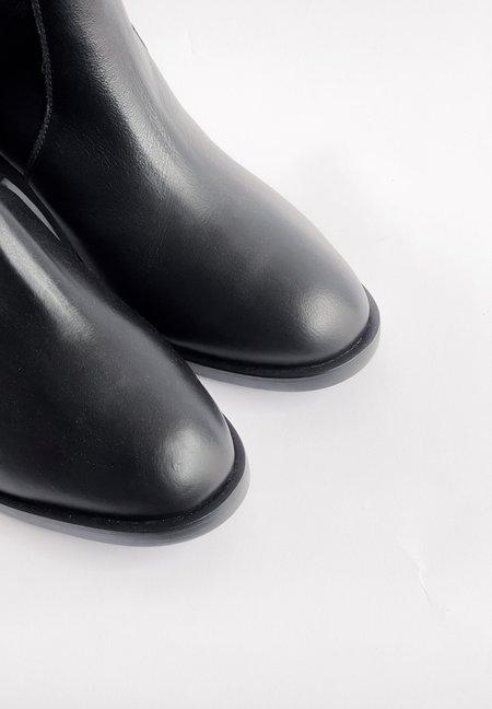 Mari Giudicelli Crosser Boot - Black Lambskin