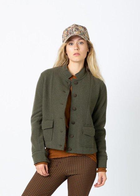 MJ. Watson Cashmere Wool Jacket - Olive
