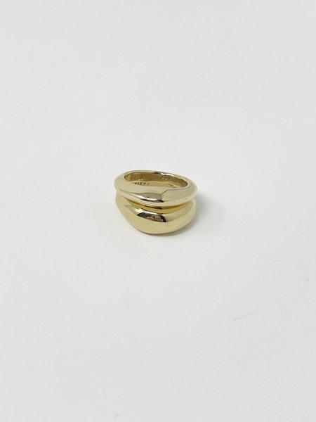 Faris Duet Ring Set - Gold
