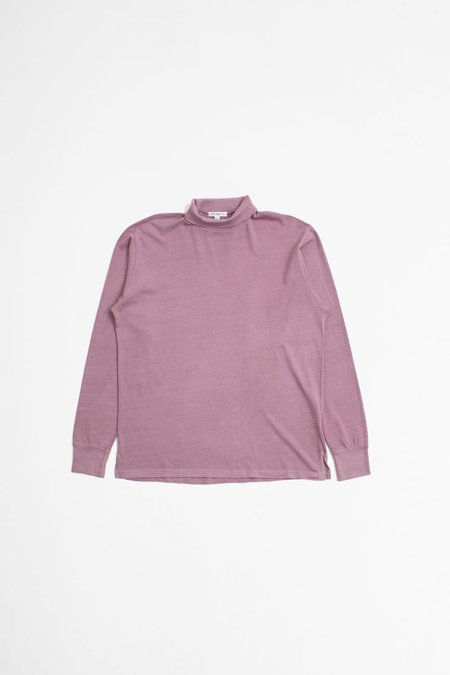 Lady White Co. Jersey Turtleneck - Clay Pink