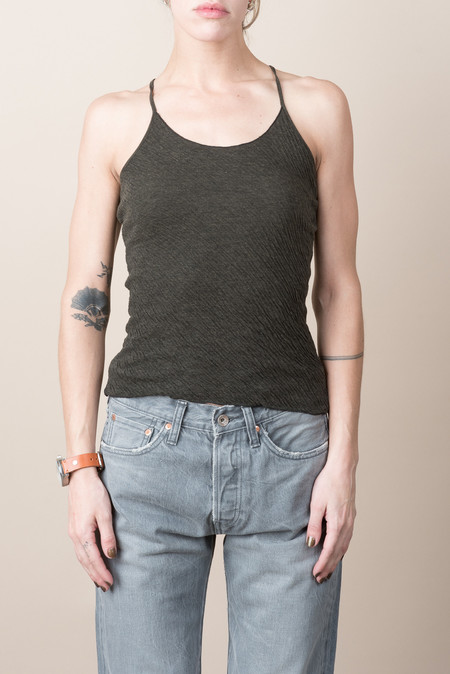 VRoom Highsoft Double Face Camisole In Black