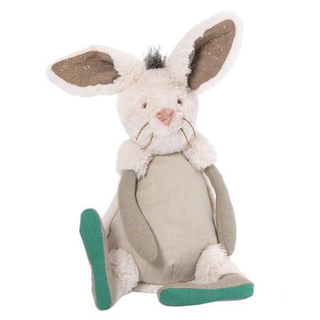 Kids Moulin Roty Rendez-Vous Chemin Du Loup Neige The Rabbit Soft Toy