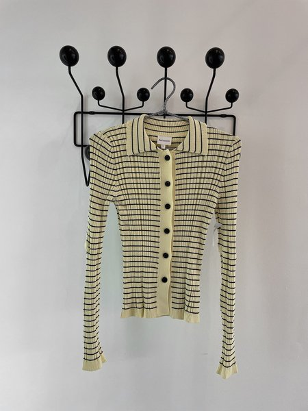 Find Me Now Striped Cardigan With Elbow Holes