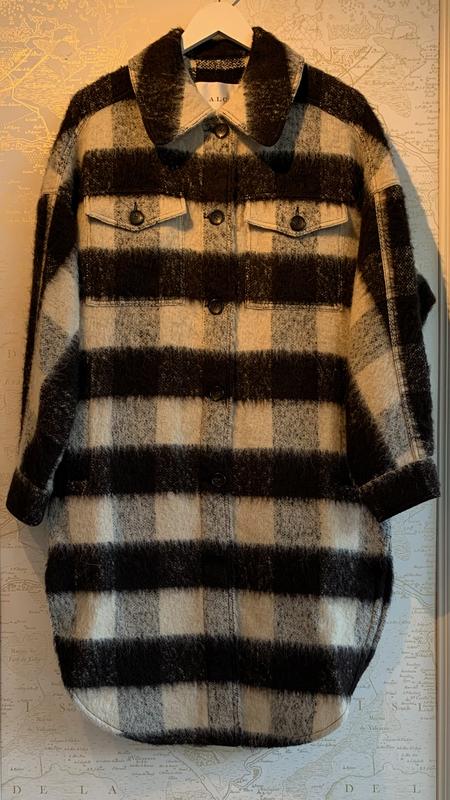 A.L.C. Carter Plaid Coat