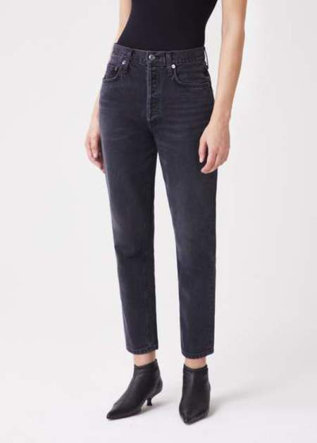 AGOLDE Fen High Rise Relaxed Tapered Jean - Shambles