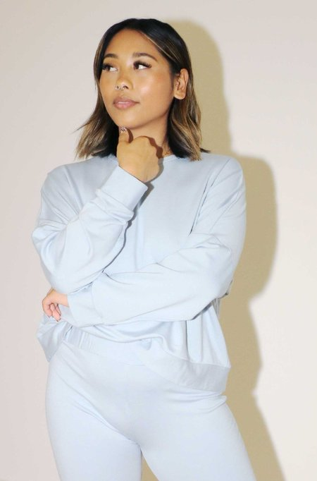 Mary Young Owen Sweater - Sky Blue