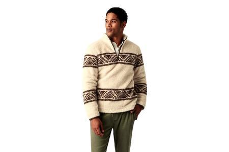 Faherty Brand x B.YELLOWTAIL Sherpa Pullover