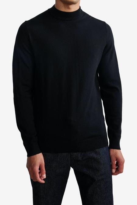 NN07 Martin 6328 SWEATER - BLACK