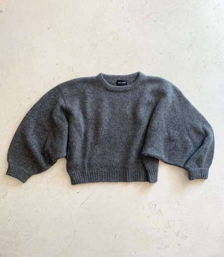 Atelier Delphine Balloon Sweater - Charcoal