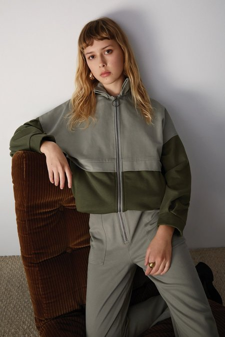 EVE GRAVEL BRANDO jacket - CREAM