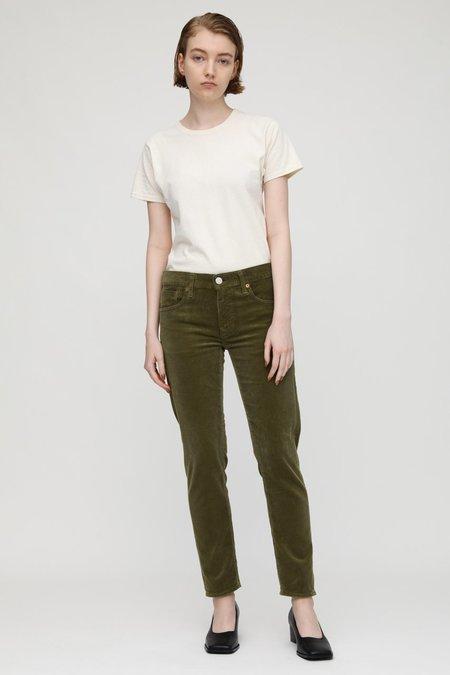 Moussy Ailey Corduroy Pants - Khaki