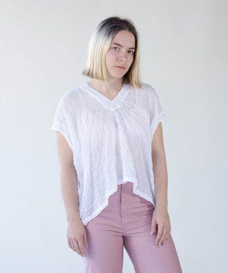Atelier Delphine White Celeste Top