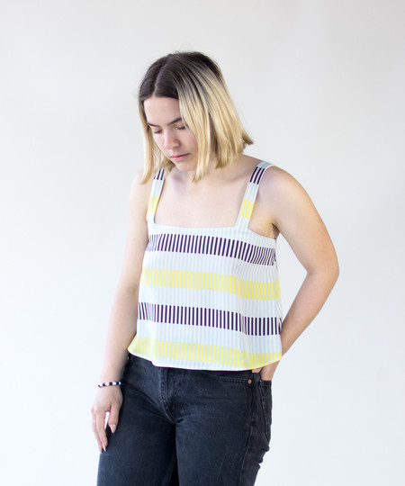 Dusen Dusen Lock Stripe Level Tank