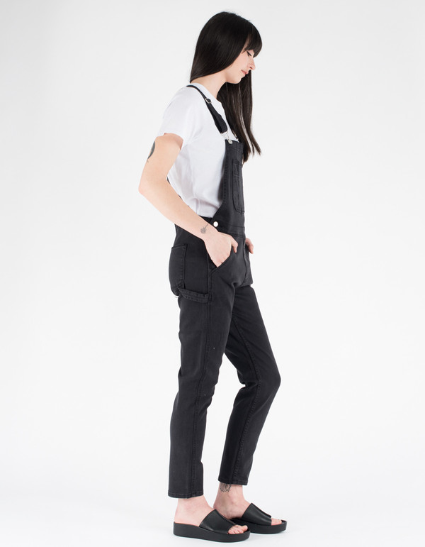 Assembly Label Ella Overalls Black
