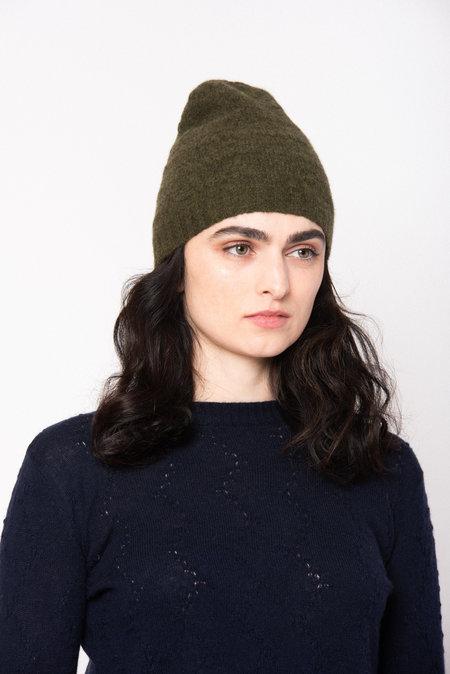 Ros Duke SLUB HAT - Ivory