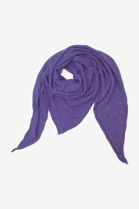 Ros Duke TRIANGLE SCARF - Lavender