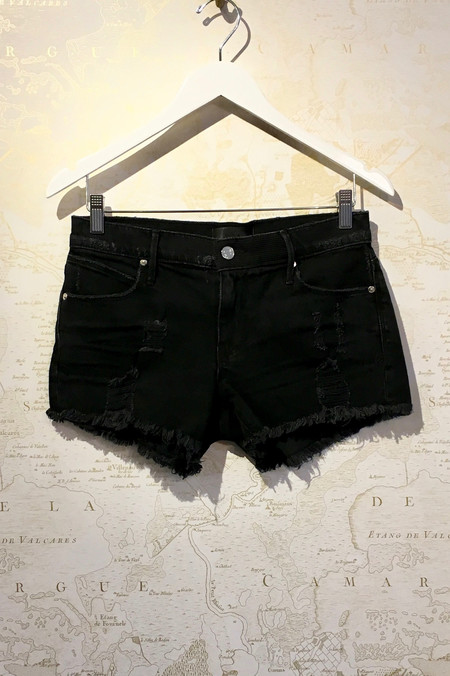 RtA 'Olivia' Cut Off Denim Shorts