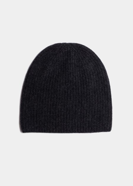 Steven Alan The Cashmere Beanie - Charcoal