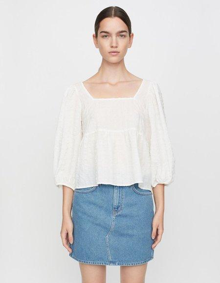 Just Female Soffia Blouse -  White
