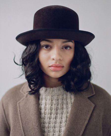 Brookes Boswell Cassie Velour Felt Hat