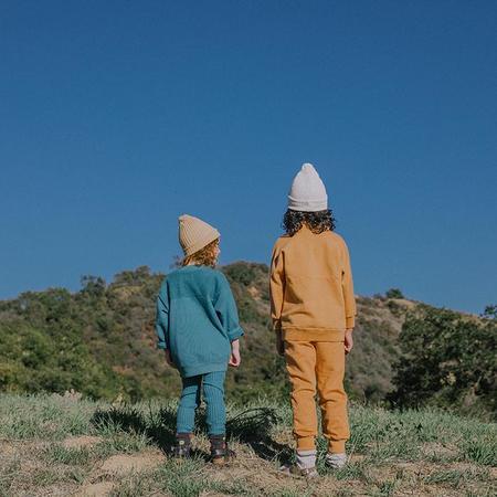 Kids Nico Nico Child Ira Fleece Sweatshirt - Oceanside Blue