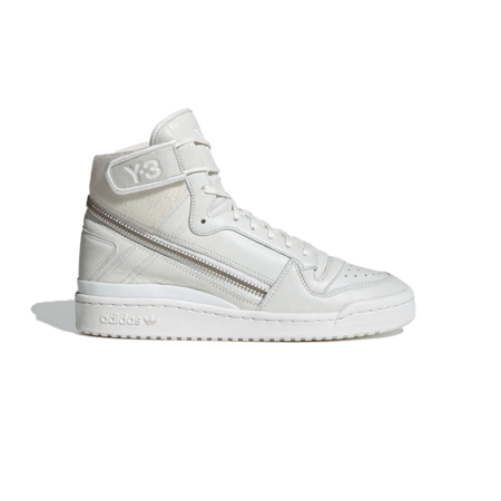 adidas x Y-3 Forum High Undyed Shoes - White Men