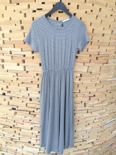 Lush Striped Long Dress