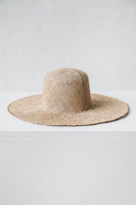 Brookes Boswell OPTIMO PACKABLE HAT - SEAGRASS STRAW
