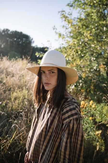 Brookes Boswell Patterson Fine Grade Panama Straw Hat