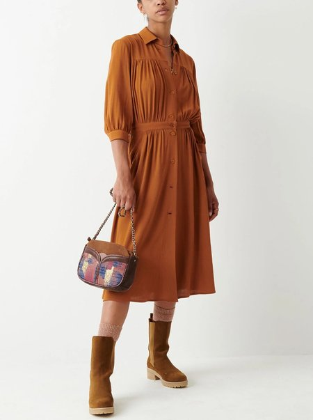 Sessun Jeanneton Dress - Fox