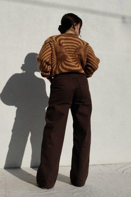 Paloma Wool Matrix sweater - Camel