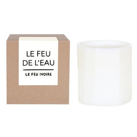 Le Feu De L'Eau Le Feu Ivoire Patchouli & Amber Candles