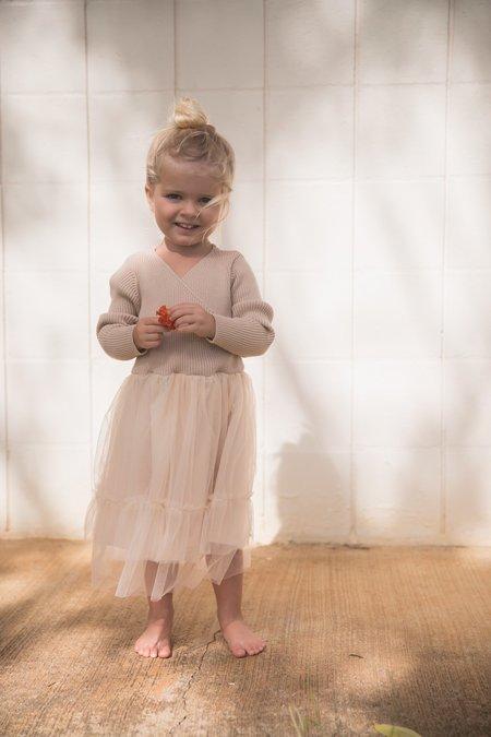 Raised By Water Olivia Dress - Beige