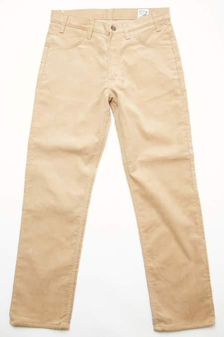 orSlow 107 Ivy Fit Slim Corduroy - BEIGE