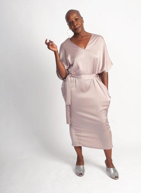 Meg Airflow Dress - Blush