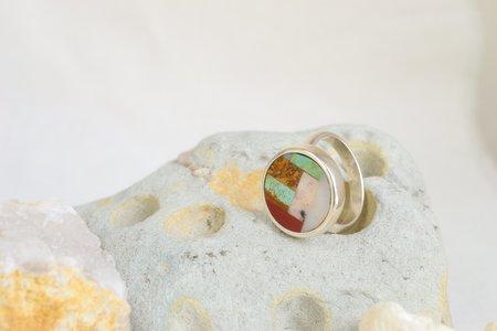 Sarah Safavi Jewelry One of a Kind Mosaic Ring -