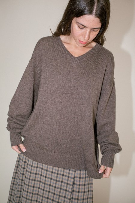 Unisex Maryam Nassir Zadeh Davis Sweater - Elephant
