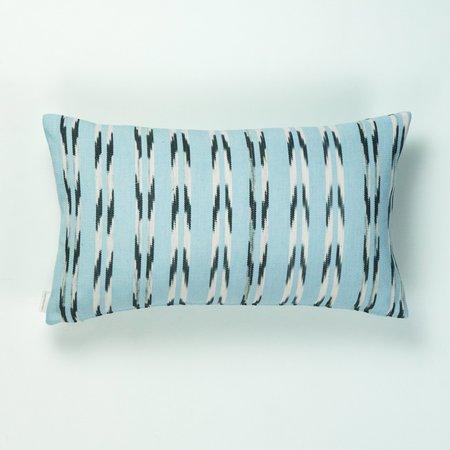 Archive New York Xela Jaspe Pillow -  Light Blue