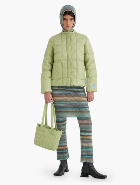 Paloma Wool Pompeya Vegan Puffer - light green